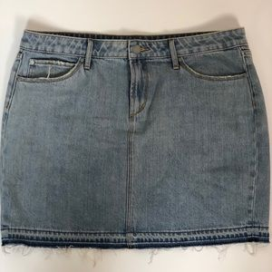 Articles of Society Stacy Mini Jean Skirt Sz 32
